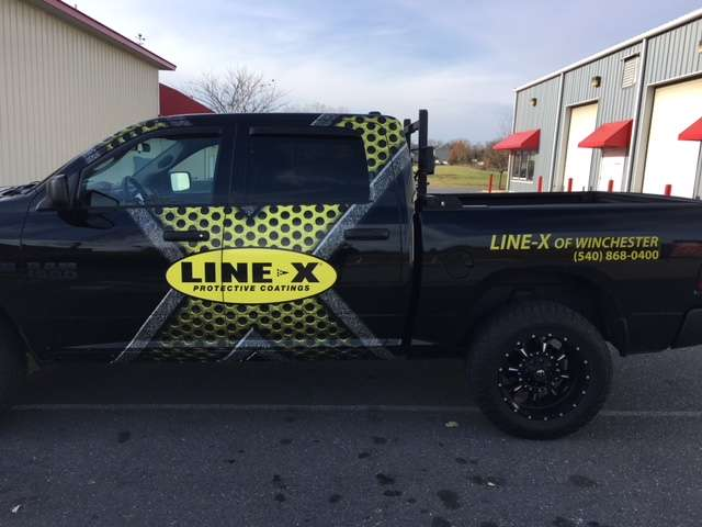 LINE-X of Winchester - car repair  | Photo 8 of 10 | Address: 211-3 Sulky Dr, Winchester, VA 22602, USA | Phone: (540) 868-0400