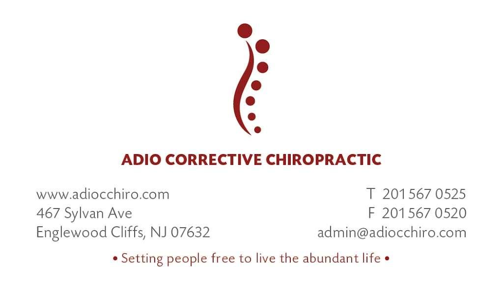 ADIO Corrective Chiropractic, LLC - health  | Photo 4 of 5 | Address: 467 Sylvan Ave, Englewood Cliffs, NJ 07632, USA | Phone: (201) 567-0525