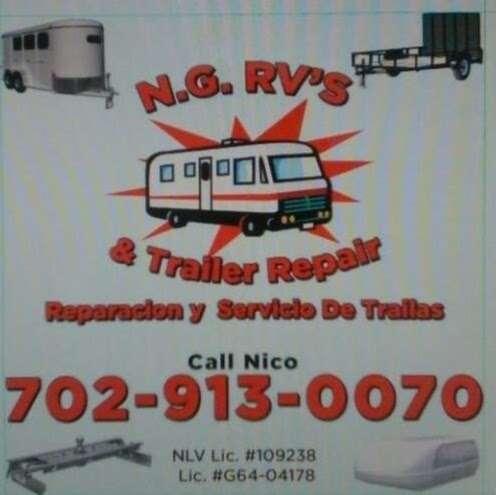NG RV & Trailer Repair - car repair  | Photo 6 of 10 | Address: 3796 W Edward Ave, Las Vegas, NV 89108, USA | Phone: (702) 913-0070