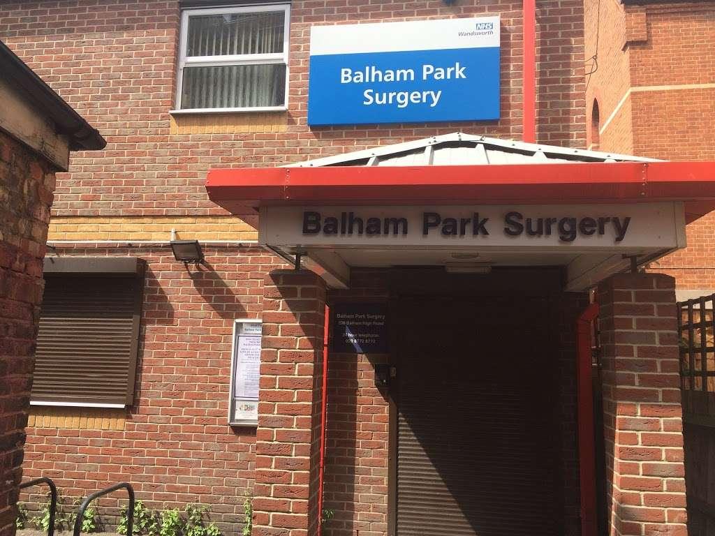 Balham Park Surgery - hospital    Photo 2 of 4   Address: 236 Balham High Rd, London SW17 7AW, UK   Phone: 020 8772 8772