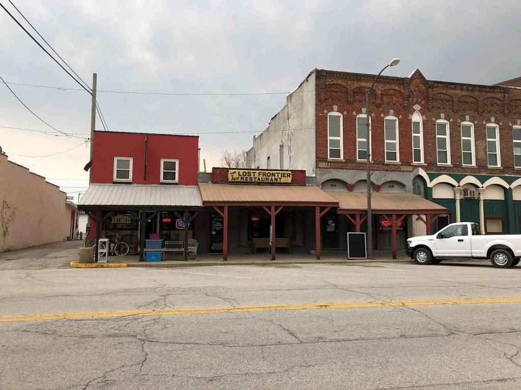 Lost Frontier Pizza King - restaurant  | Photo 1 of 2 | Address: 114 E Main St, Thorntown, IN 46071, USA | Phone: (765) 436-2288