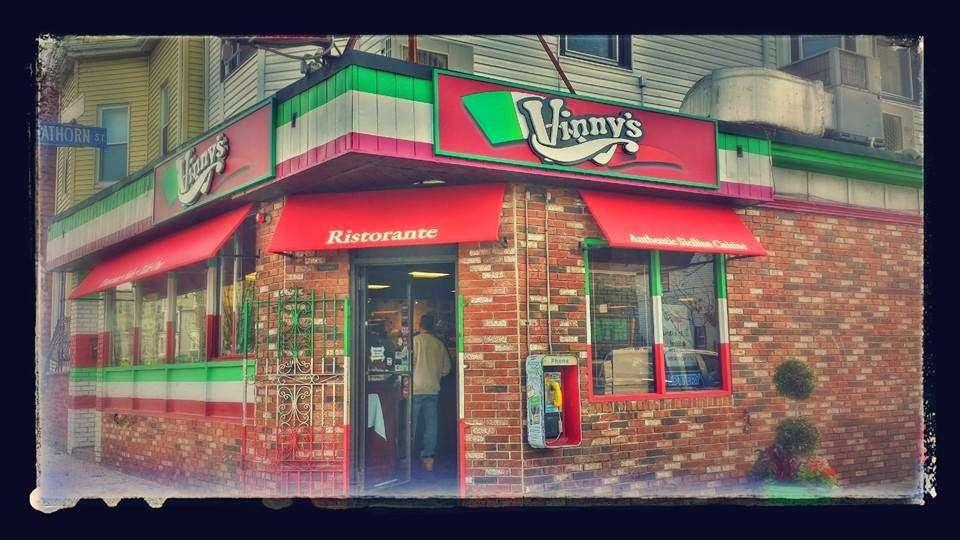 Vinnys Ristorante - meal takeaway  | Photo 1 of 10 | Address: 3320 76 Broadway, Somerville, MA 02145, USA | Phone: (617) 628-1921