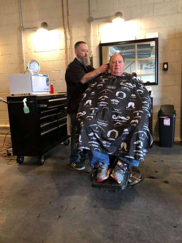 Hone and Strop Barbershop - hair care  | Photo 6 of 10 | Address: The Fuel House, 611 W 2nd St, Bonner Springs, KS 66012, USA | Phone: (785) 615-1023
