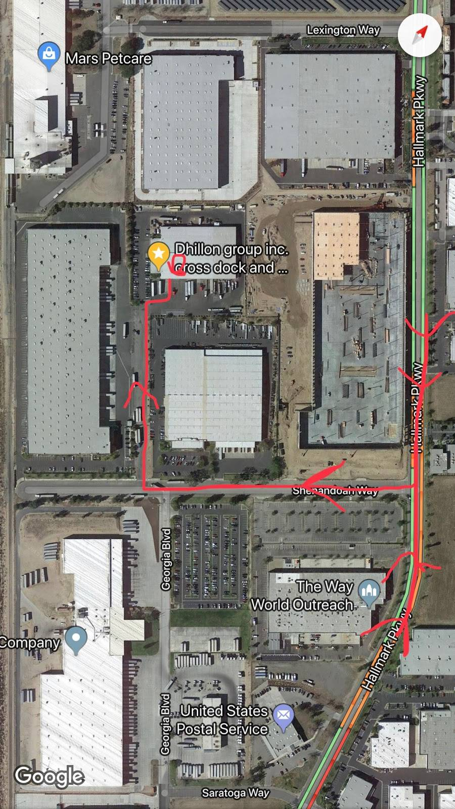 Dhillon group inc. cross dock and warehouse - moving company  | Photo 2 of 2 | Address: 2586 Shenandoah Way, San Bernardino, CA 92407, USA | Phone: (909) 904-4158