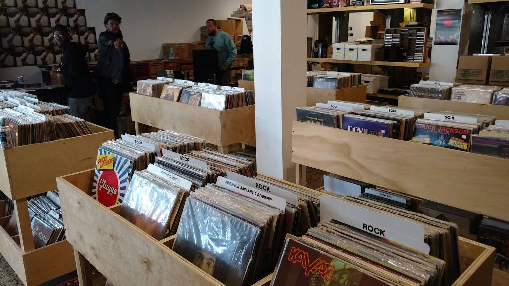 Rock City Records - electronics store  | Photo 1 of 10 | Address: 14401 E Jefferson Ave #2933, Detroit, MI 48215, USA | Phone: (313) 499-1540
