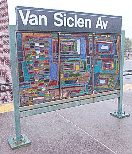 Van Siclen Av - subway station  | Photo 10 of 10 | Address: Brooklyn, NY 11207, USA