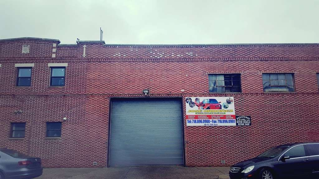 Jose Ordonez Auto Repair and Body Shop - car repair  | Photo 10 of 10 | Address: 88-43 76th Ave, Glendale, NY 11385, USA | Phone: (718) 896-0900