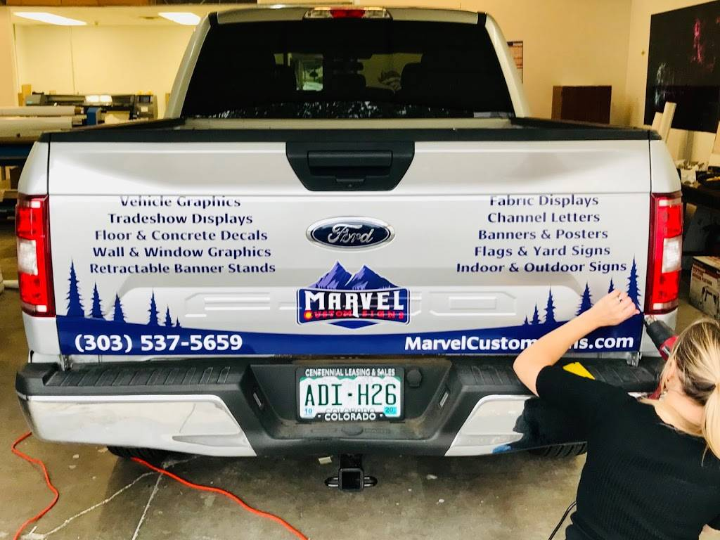 Marvel Custom Signs - store  | Photo 5 of 9 | Address: 8392 S Continental Divide Rd Suite 103, Littleton, CO 80127, USA | Phone: (303) 537-5659