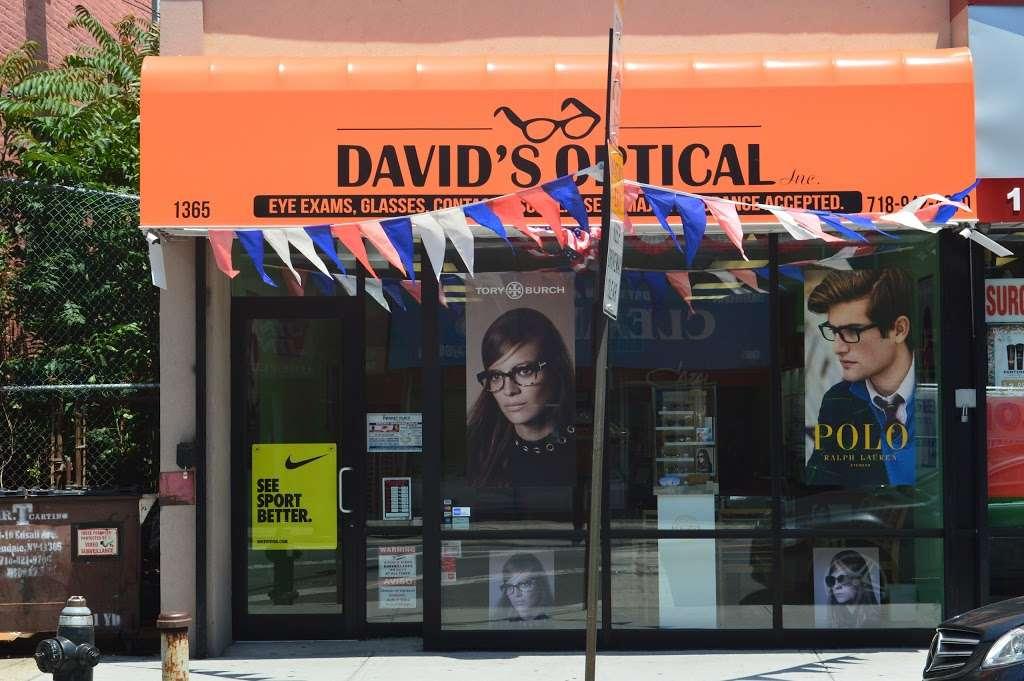 Davids Optical Inc - store  | Photo 4 of 7 | Address: 1365 Rockaway Pkwy, Brooklyn, NY 11236, USA | Phone: (718) 942-4670