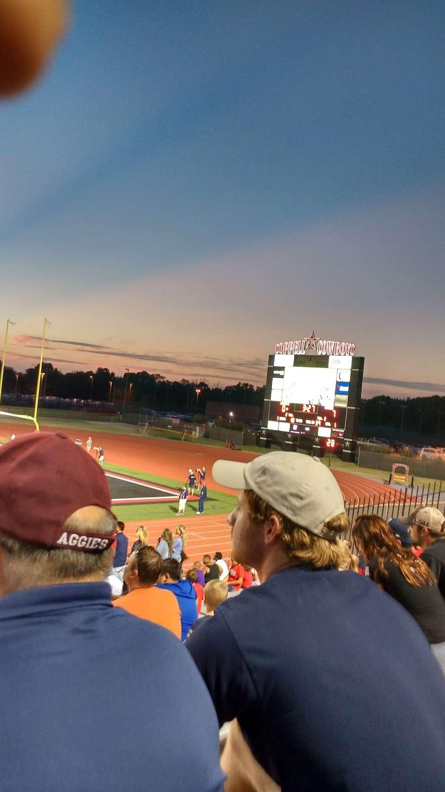 Buddy Echols Field - stadium    Photo 2 of 10   Address: 185 W Parkway Blvd, Coppell, TX 75019, USA   Phone: (214) 496-6100