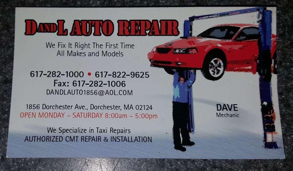 D L Automobile Repair - car repair  | Photo 1 of 1 | Address: 1856 Dorchester Ave, Dorchester Center, MA 02124, USA | Phone: (617) 282-1000