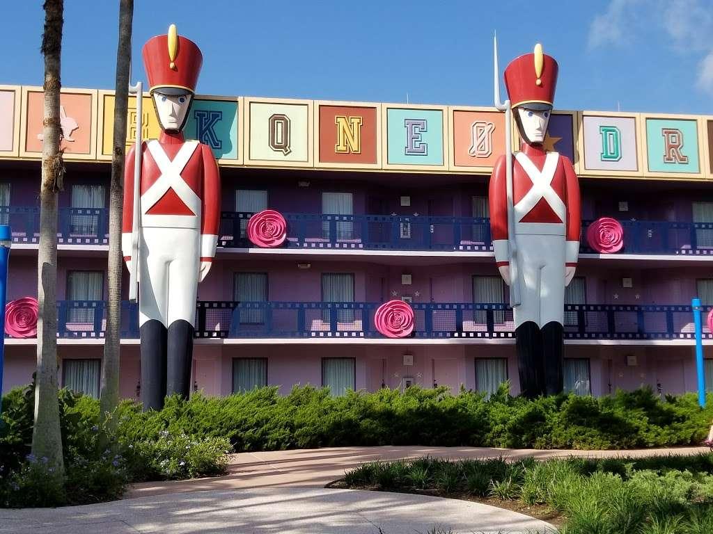 Disneys All-Star Movies Resort - bus station  | Photo 4 of 10 | Address: Directors Dr, Kissimmee, FL 34747, USA
