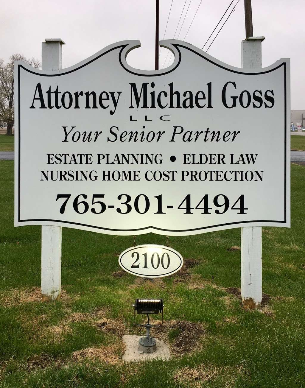 Attorney Michael Goss - lawyer  | Photo 1 of 5 | Address: 2100 IN-240, Greencastle, IN 46135, USA | Phone: (765) 301-4494