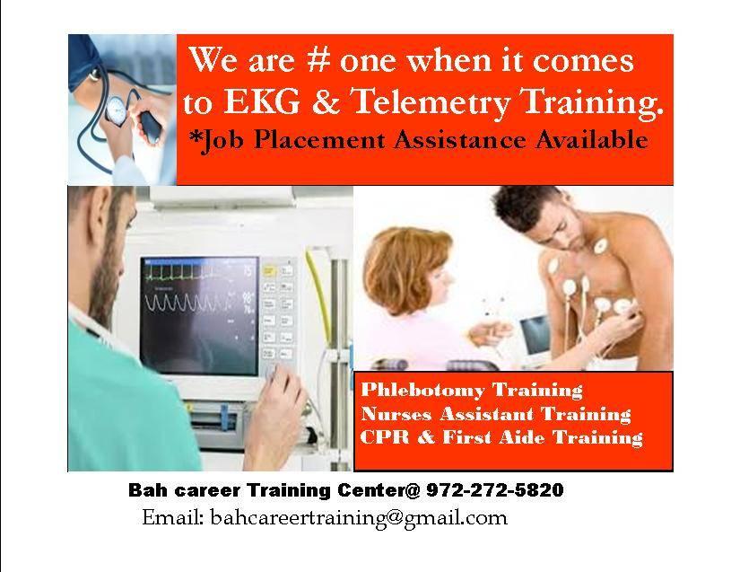 EKG TRAINING @ BAH CAREER TRAINING - doctor    Photo 3 of 3   Address: 2433 Goldfinch Ln, Garland, TX 75042, USA   Phone: (972) 272-5820