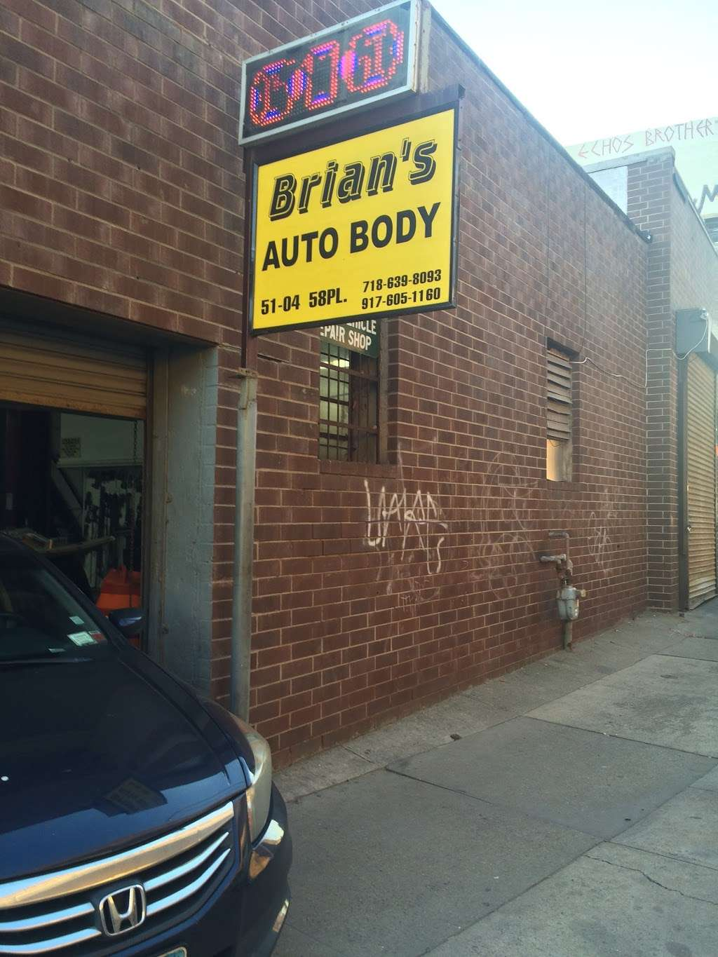 Brians Auto Body Shop Inc - car repair  | Photo 3 of 6 | Address: 51-04 58th Pl, Woodside, NY 11377, USA | Phone: (917) 605-1160