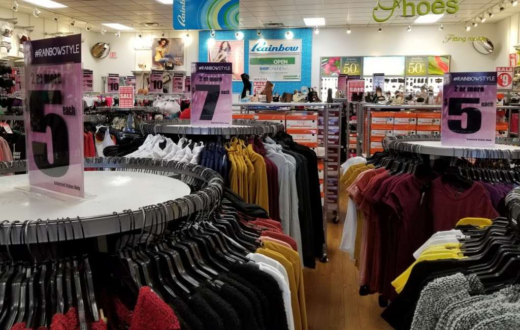 rainbow clothing store printable coupons