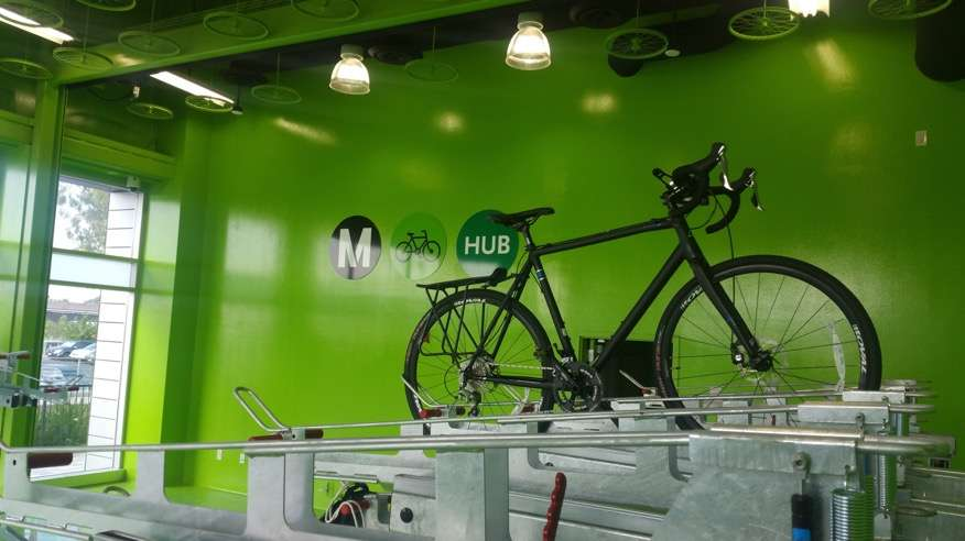 Metro Bike Hub El Monte - parking  | Photo 3 of 8 | Address: 3501 Santa Anita Ave A, El Monte, CA 91731, USA | Phone: (888) 659-2291