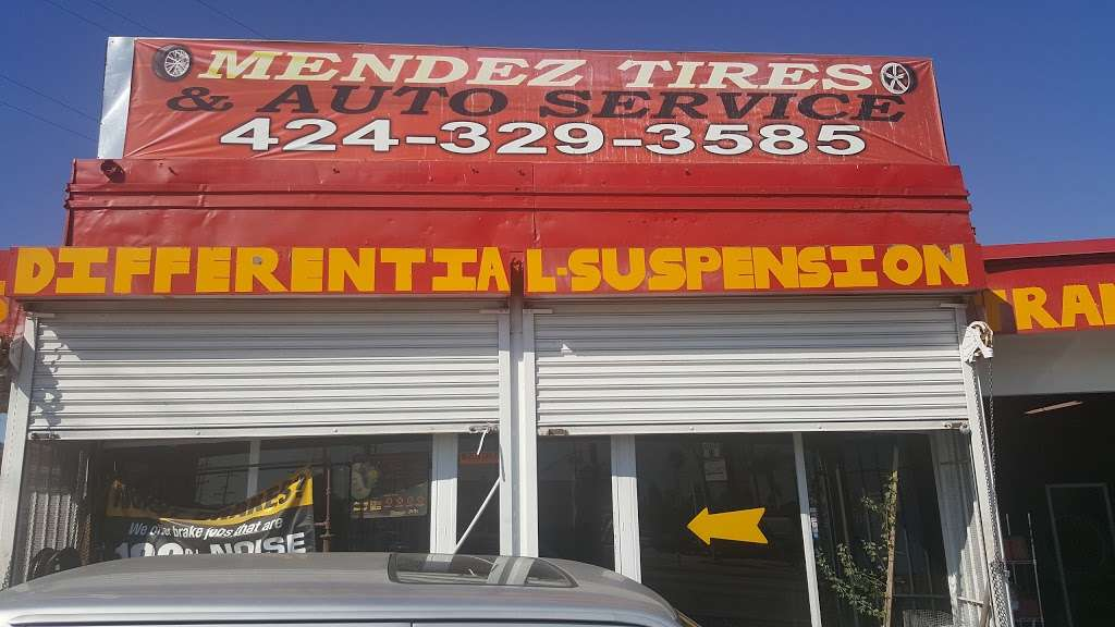Mendez Tires And Auto Service - car repair  | Photo 4 of 10 | Address: 541 E Redondo Beach Blvd, Gardena, CA 90248, USA | Phone: (424) 329-3585