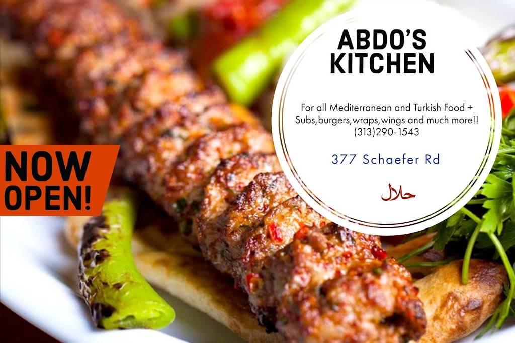Abdos Kitchen - restaurant  | Photo 1 of 8 | Address: 377 Schaefer Rd, Detroit, MI 48217, USA | Phone: (313) 290-1543