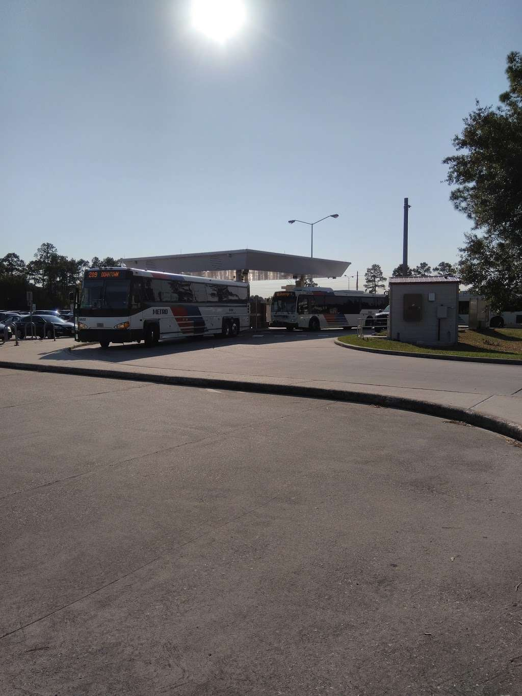 Spring Park and Ride - Parking | 17444 Carlsway Rd, Houston