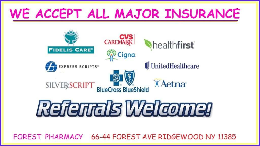 Forest Pharmacy - pharmacy    Photo 7 of 7   Address: 66-44 Forest Ave, Ridgewood, NY 11385, USA   Phone: (718) 417-4700