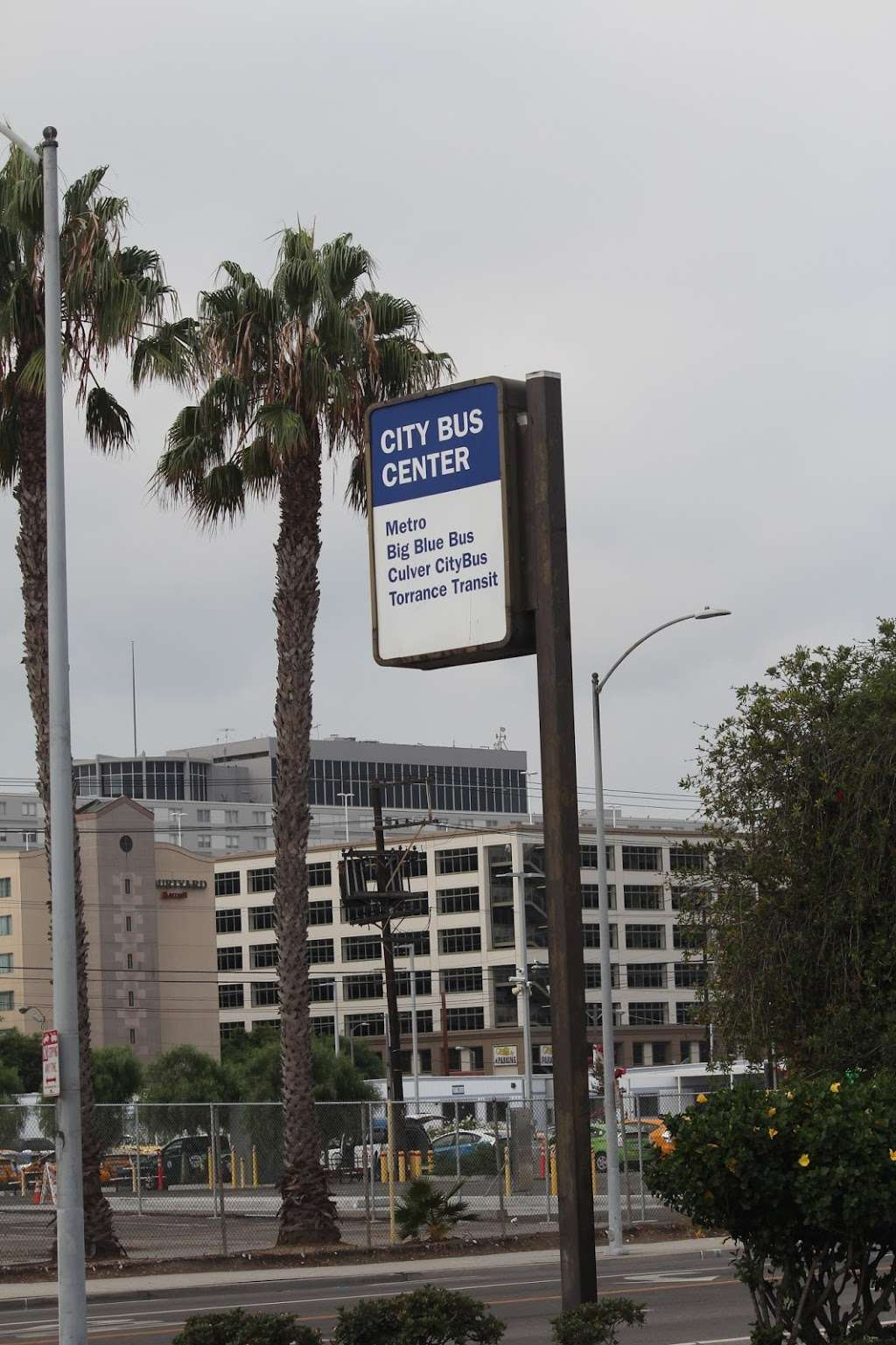 LAX City Bus Center - bus station  | Photo 10 of 10 | Address: West 96th Street, Los Angeles, CA 90045, USA