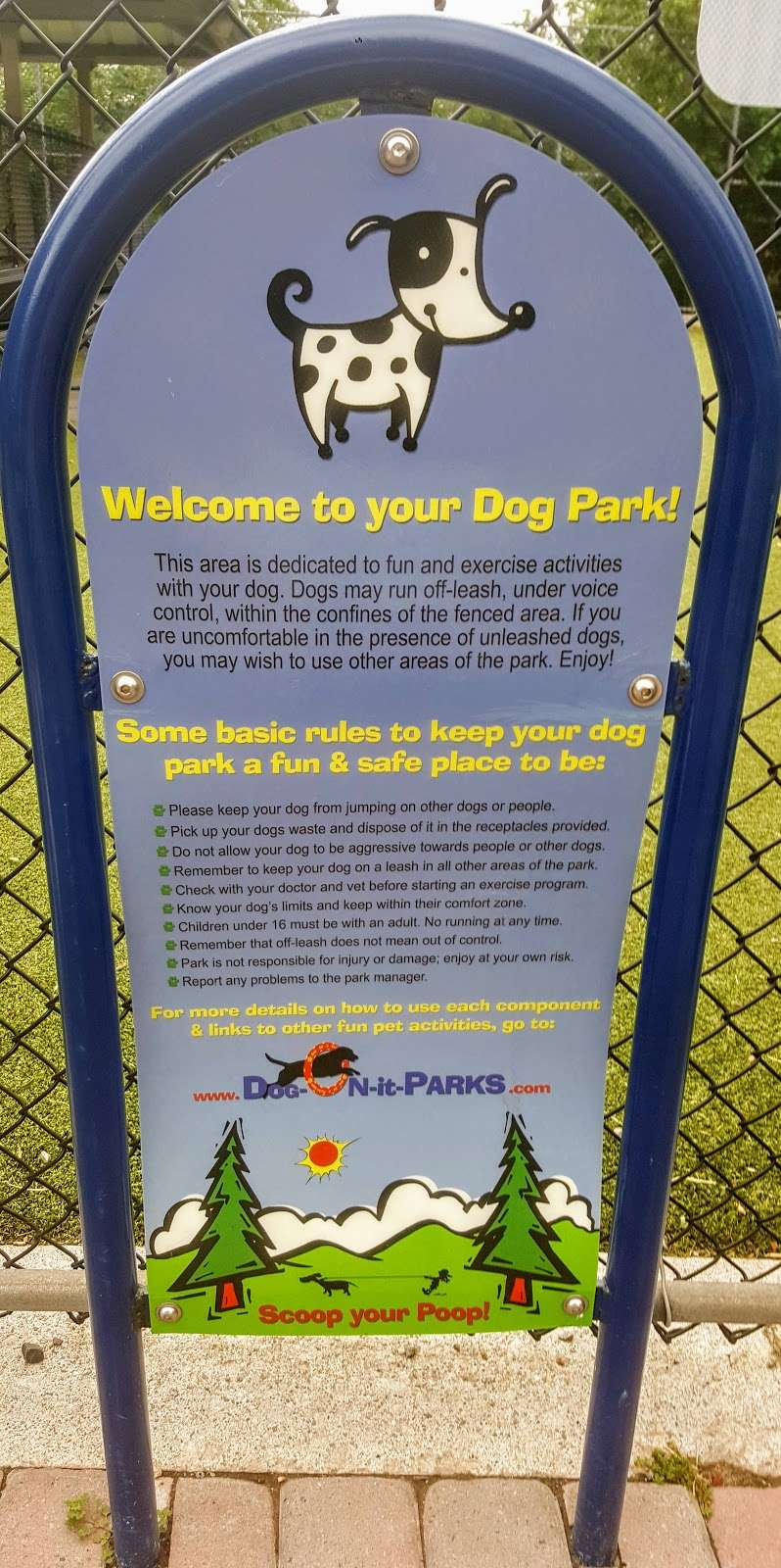 West New York Dog Park - park  | Photo 4 of 5 | Address: 6400-6498 John Fitzgerald Kennedy Blvd, West New York, NJ 07093, USA
