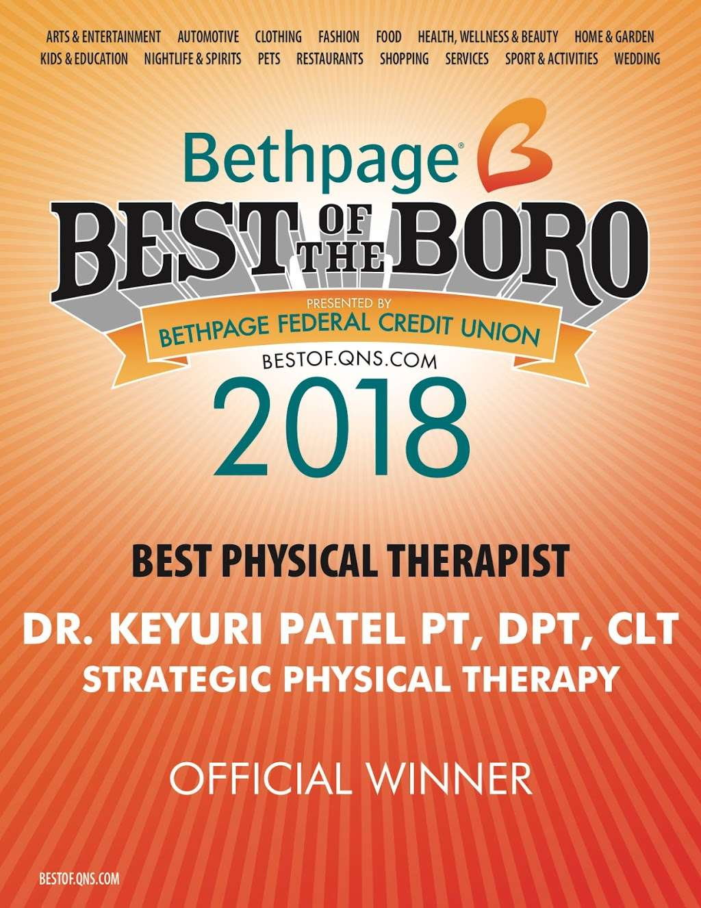 Strategic Physical Therapy PLLC - physiotherapist  | Photo 7 of 10 | Address: 249-12 Jericho Turnpike #205, Bellerose, NY 11426, USA | Phone: (516) 233-1717