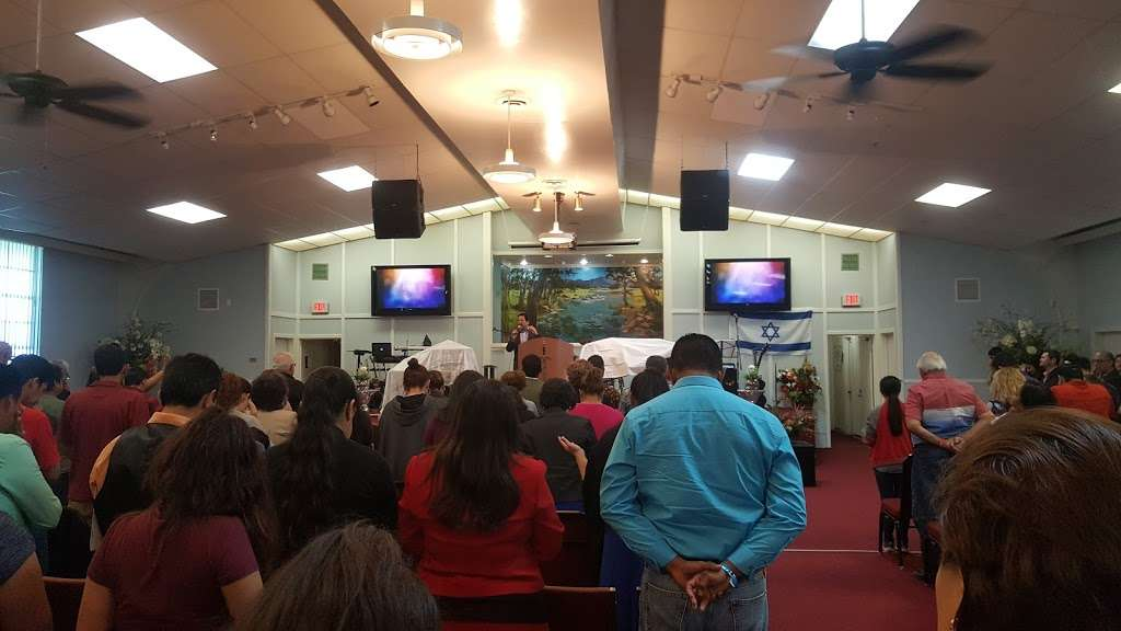 Iglesia Fuente de Vida - church    Photo 1 of 7   Address: 1105 Flint St, Houston, TX 77029, USA