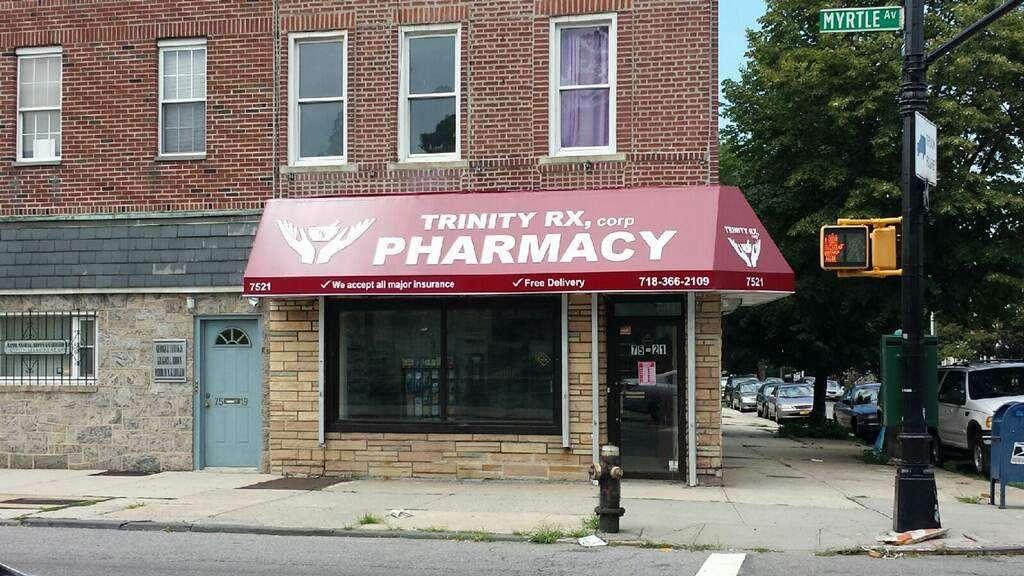 Trinity Rx Pharmacy - pharmacy  | Photo 2 of 5 | Address: 75-21 Myrtle Ave, Flushing, NY 11385, USA | Phone: (718) 366-2109