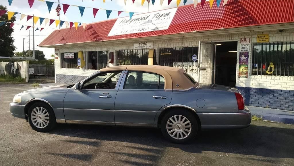 EZ Hollywood Tops Auto Restyling - car repair    Photo 1 of 10   Address: 4700 Causeway Blvd, Tampa, FL 33619, USA   Phone: (813) 391-4062