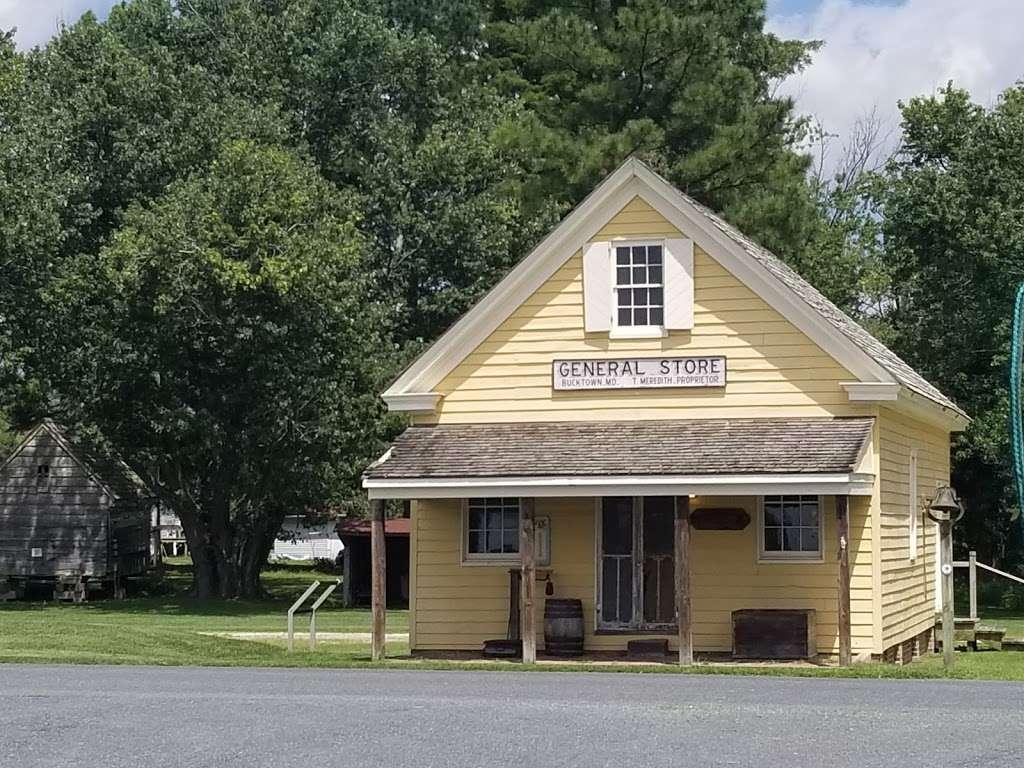 Bucktown General Store - museum  | Photo 2 of 2 | Address: 4303 Bucktown Rd, Cambridge, MD 21613, USA | Phone: (410) 901-9255