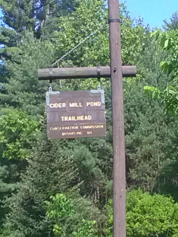Cider Mill Pond Trailhead - park    Photo 2 of 10   Address: 03033, Brookline, NH 03033, USA