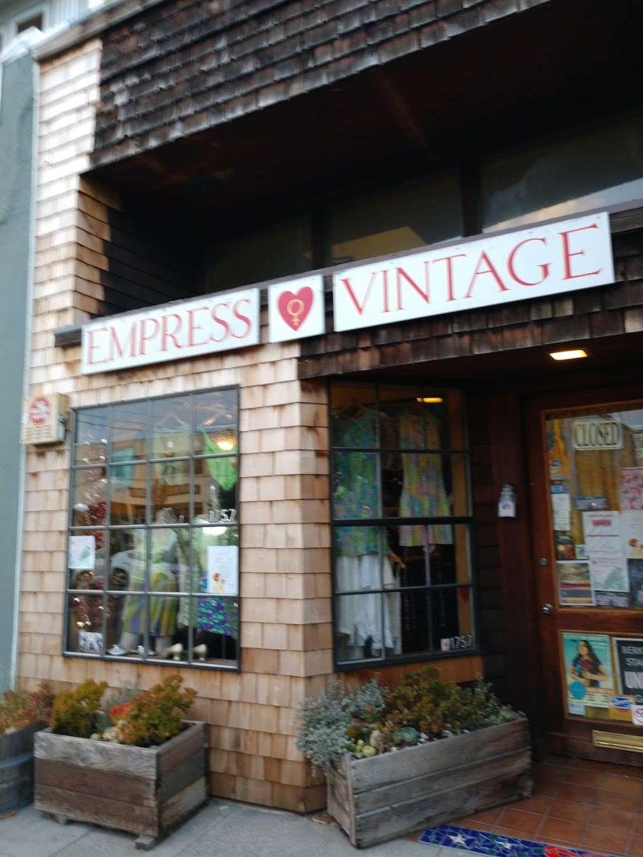 Empress Vintage - clothing store    Photo 9 of 10   Address: 1757 Alcatraz Ave, Berkeley, CA 94703, USA   Phone: (510) 542-6196