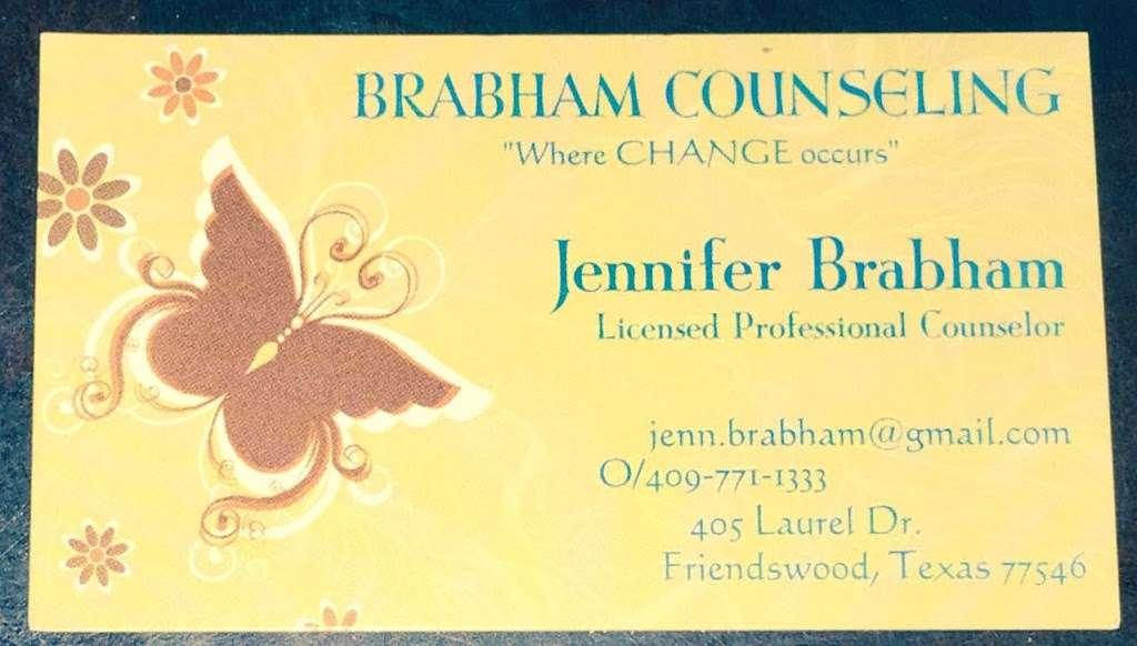 Jennifer A. Brabham, LPC - doctor  | Photo 7 of 8 | Address: 405 Laurel Dr, Friendswood, TX 77546, USA | Phone: (832) 721-9819