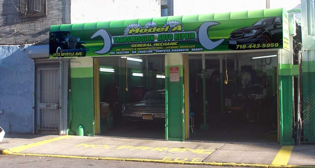 Model A Transmission & Auto Repair - car repair  | Photo 1 of 5 | Address: 1173 Myrtle Ave, Brooklyn, NY 11221, USA | Phone: (718) 443-5959