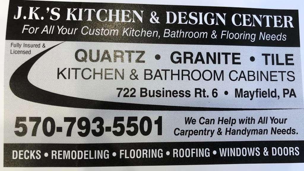 Jk's Kitchen & Design Center - Home goods store   722 US-6 BUS ...