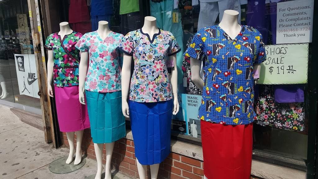 Fashion Uniforms - clothing store    Photo 3 of 9   Address: 2204 White Plains Rd, The Bronx, NY 10467, USA   Phone: (718) 881-3695