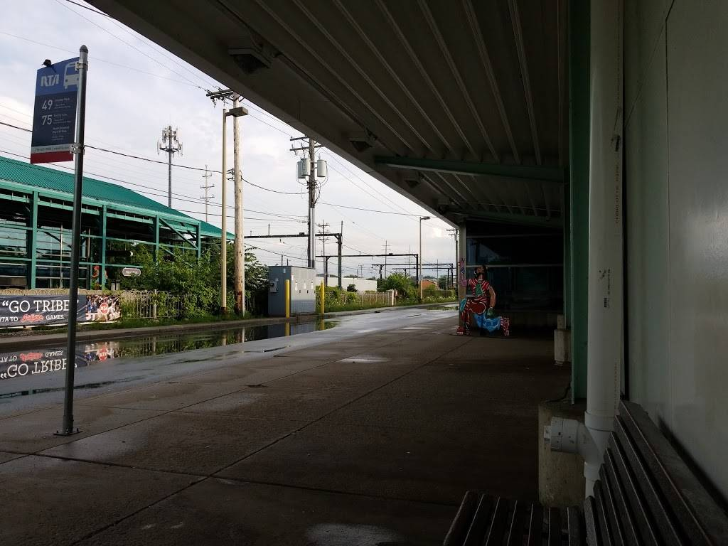 West Park Station - subway station    Photo 3 of 8   Address: Cleveland, OH 44111, USA   Phone: (216) 566-5100