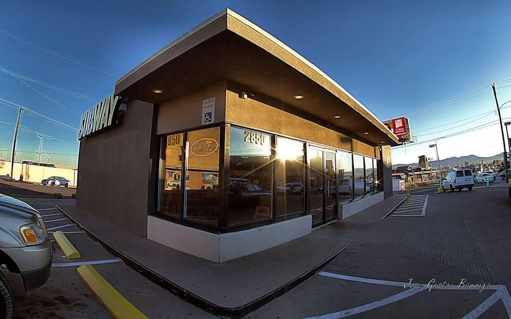 Subway - restaurant    Photo 5 of 9   Address: 5415 Dyer St, El Paso, TX 79904, USA   Phone: (915) 564-0593