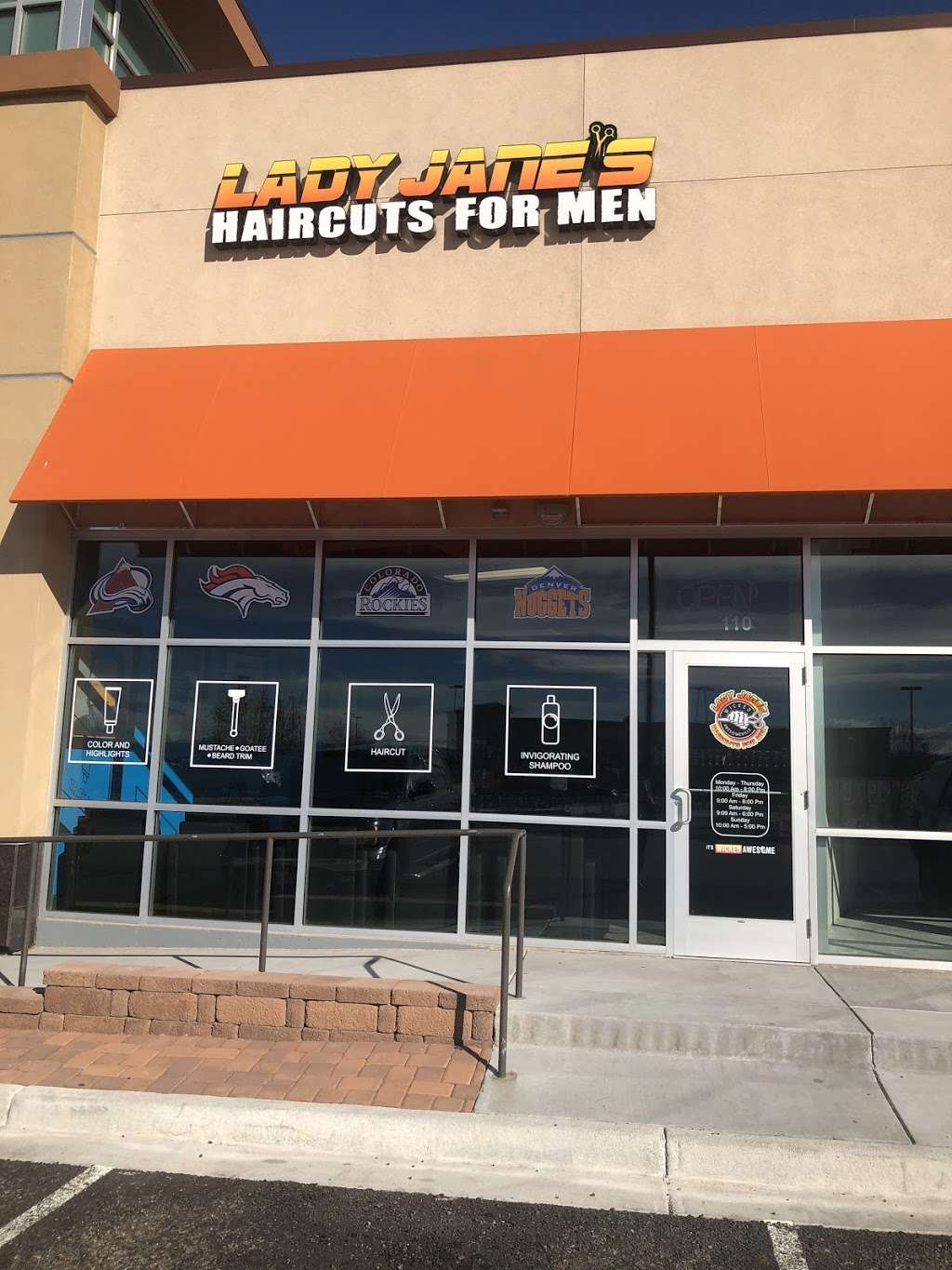 Lady Janes Haircuts for Men Parker - hair care    Photo 1 of 4   Address: 19420 Lincoln Ave, Parker, CO 80134, USA   Phone: (303) 242-1713