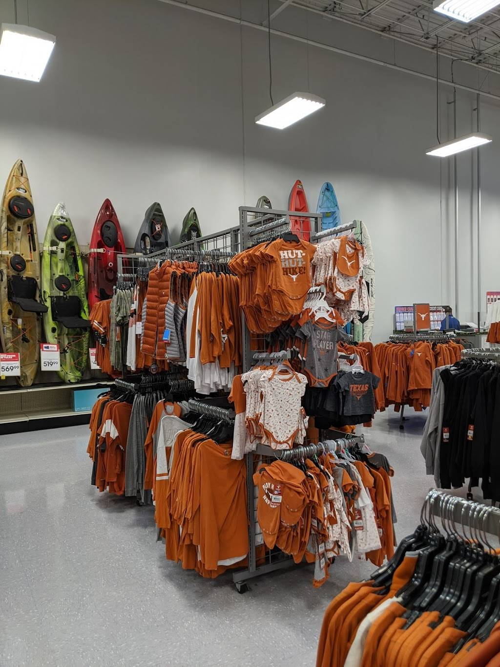 Academy Sports + Outdoors - shoe store  | Photo 6 of 9 | Address: 5400 Brodie Ln, Sunset Valley, TX 78745, USA | Phone: (512) 891-4240