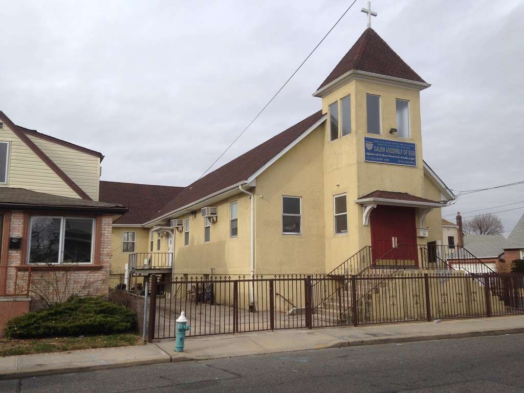 SALEM ASSEMBLY OF GOD - church  | Photo 1 of 2 | Address: 111 Waldorf Ave, Elmont, NY 11003, USA | Phone: (516) 358-2054