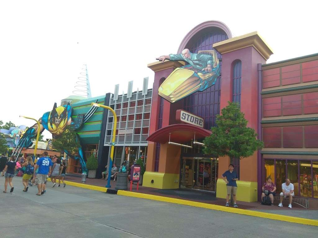 Marvel Alterniverse Store - store  | Photo 3 of 10 | Address: Florida Center, Universal Orlando Resort, Orlando, FL 32819, USA