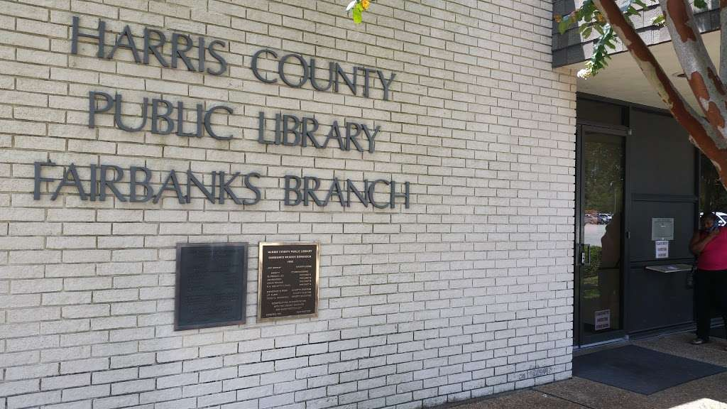 Fairbanks Library - library  | Photo 4 of 10 | Address: 7122 Gessner Rd, Houston, TX 77040, USA | Phone: (713) 466-4438