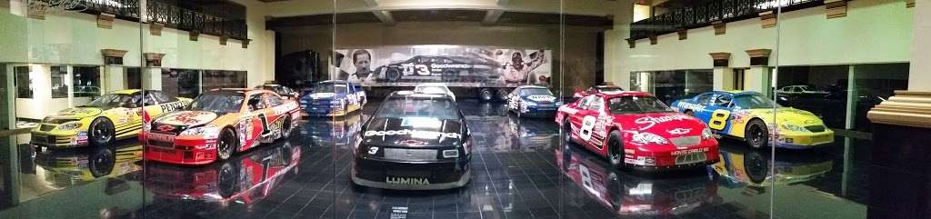 Dale Earnhardt Inc - museum    Photo 5 of 10   Address: 1675 NC-3, Mooresville, NC 28115, USA   Phone: (704) 662-8000