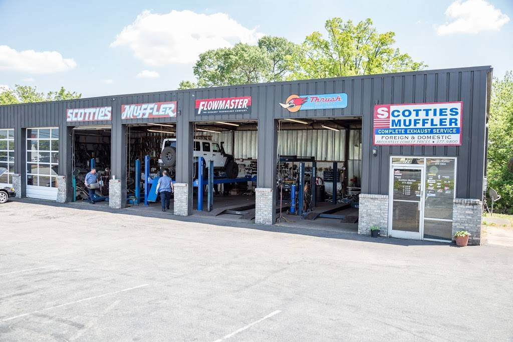 Scotties Muffler Shop - car repair  | Photo 1 of 10 | Address: 4148 Patterson Ave, Winston-Salem, NC 27105, USA | Phone: (336) 377-9800
