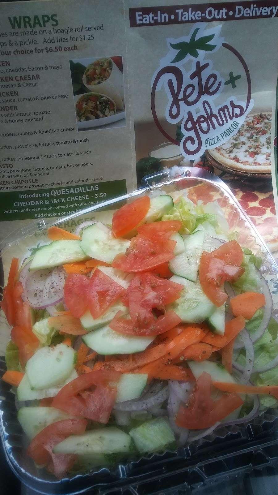 Pete & Johns Pizza Parlor - restaurant  | Photo 8 of 10 | Address: 50 Magnolia Rd, Pemberton, NJ 08068, USA | Phone: (609) 894-8073