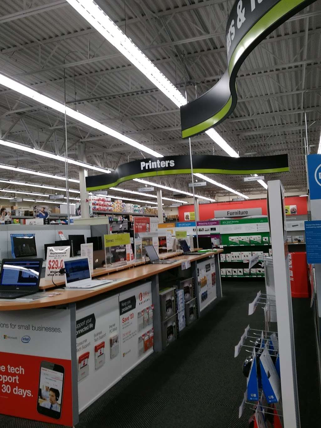 Staples - electronics store  | Photo 10 of 10 | Address: 1341 A Fairview Blvd, Delran, NJ 08075, USA | Phone: (856) 764-2923