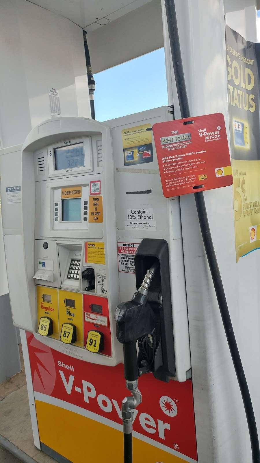 Shell - gas station    Photo 8 of 9   Address: 34013 Co Rd 13, Elizabeth, CO 80107, USA   Phone: (303) 646-4778